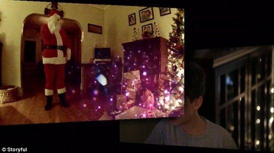 サンタクロースの隠し撮りに成功に関連した画像-04