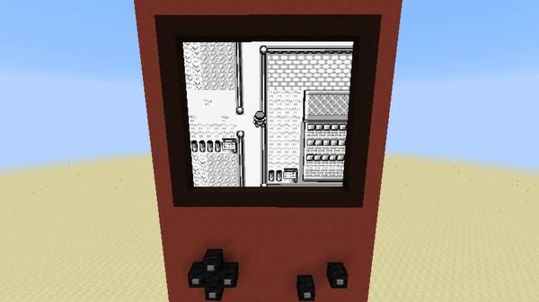 マインクラフト内で『ポケットモンスター 赤』がプレイ可能に関連した画像-04