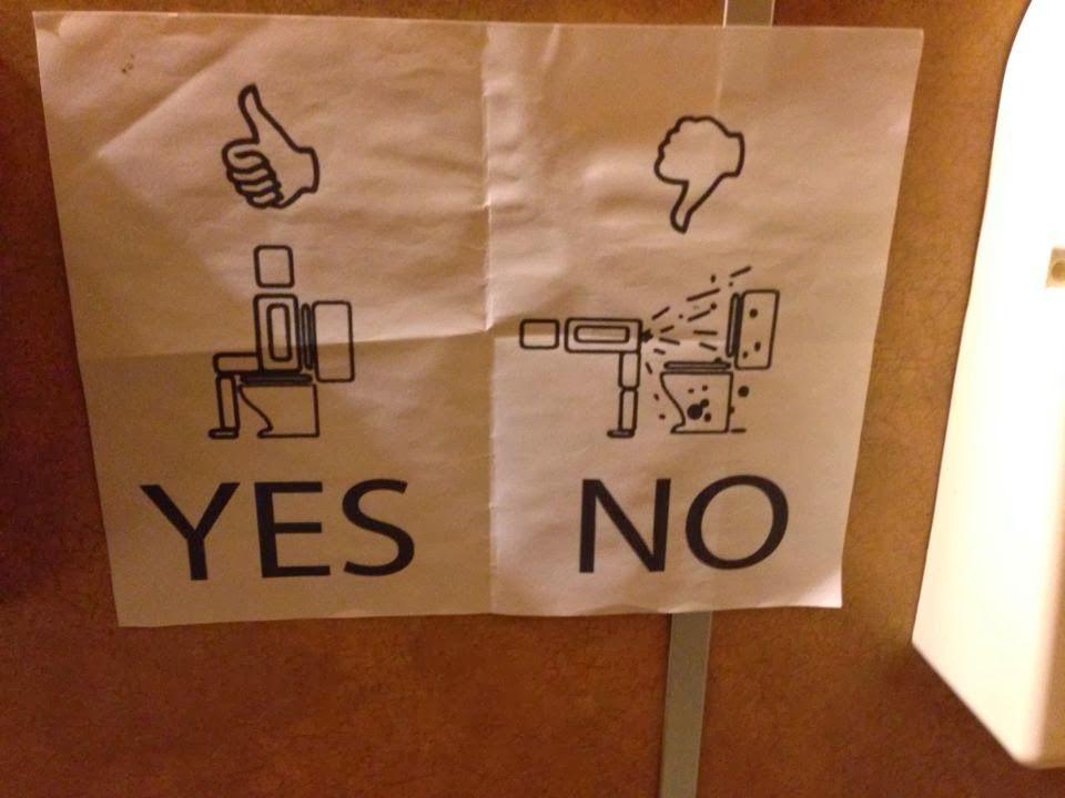 おもしろいトイレのマークに関連した画像-11
