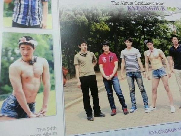 韓国の高校生の卒業アルバムに関連した画像-08