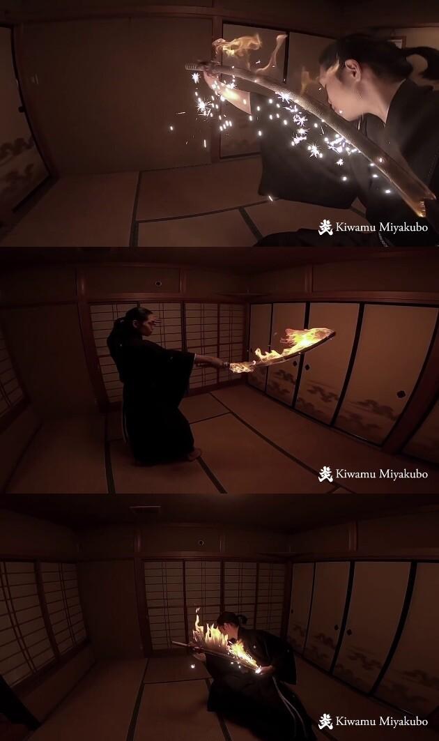 宮窪研 炎舞 炎刀 火炎斬り 鬼滅の刃に関連した画像-04