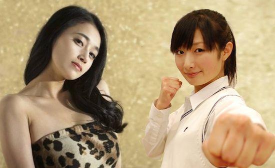 美しすぎる格闘家、武田梨奈&テミ(ケイ・キム)に関連した画像-01