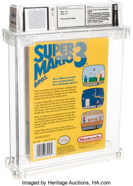 オークション スーパーマリオブラザーズ3 任天堂 ファミコン