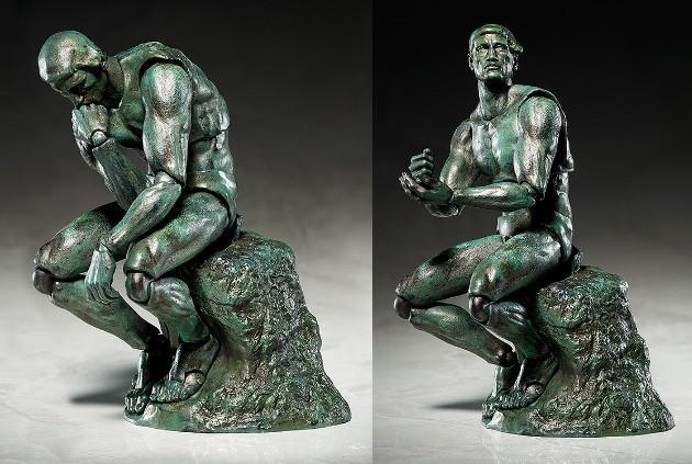 ダヴィンチの 「ウィトルウィウス的人体図」が可動フィギュア化に関連した画像-06