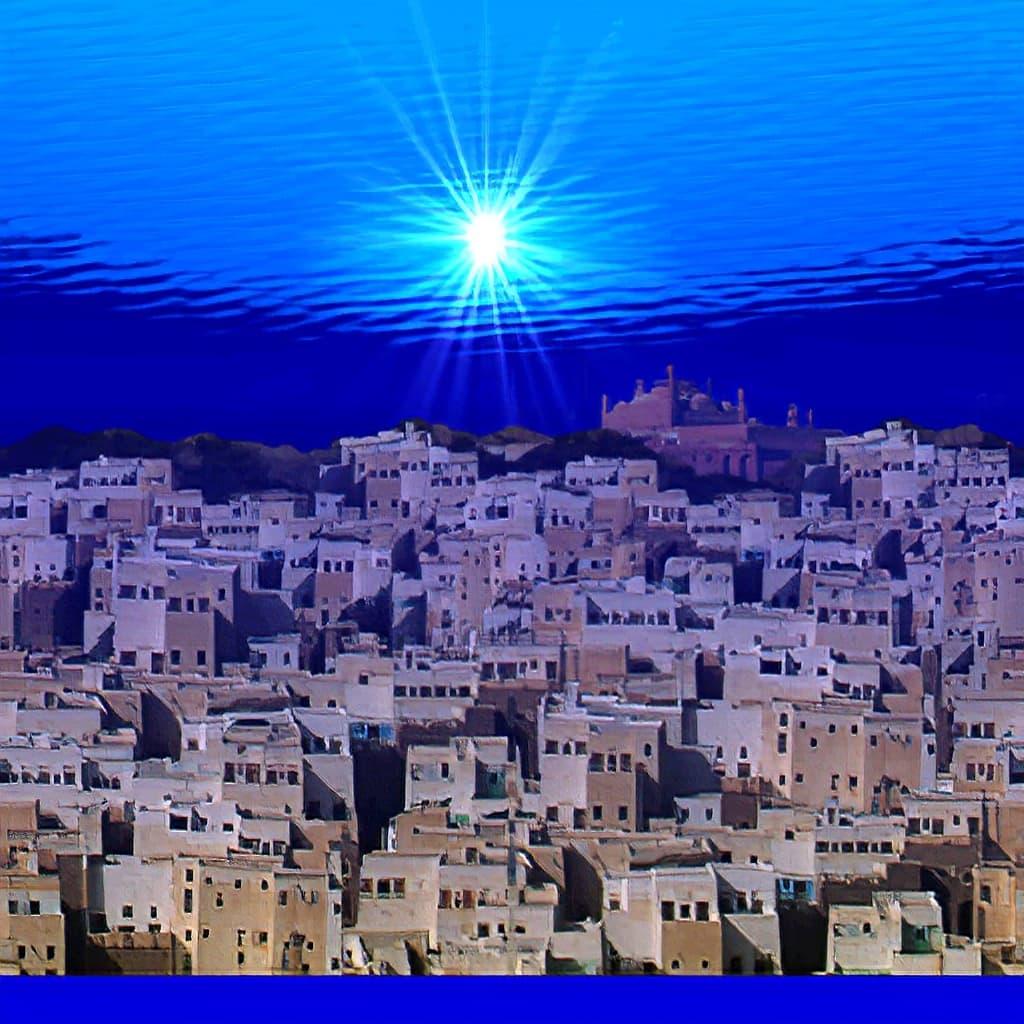 シバーム イエメン 旧城壁都市 スーパーマリオ64 みずびたシティー