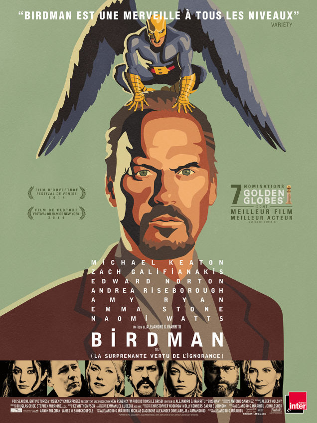 『バードマン』の日本向け宣材ポスターが超絶ダサいに関連した画像-13