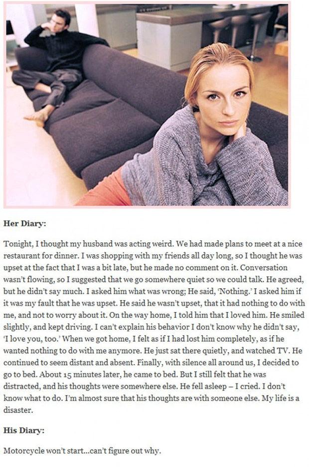 男女の違いが分かる彼氏彼女の日記に関連した画像-02