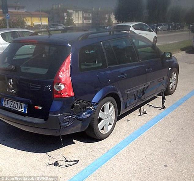 猛暑で車が溶け出すに関連した画像-02