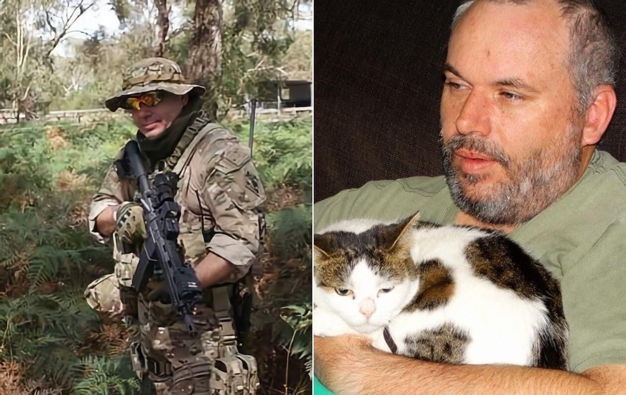 ネコ 猫 オーストラリア 軍人 SWAT トニー・ウィットマン