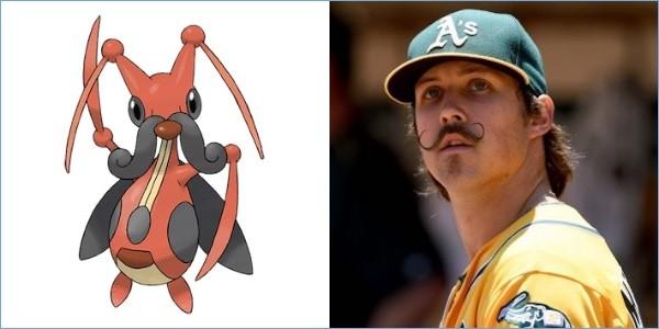 ポケモンと同じ髪型の野球選手に関連した画像-07
