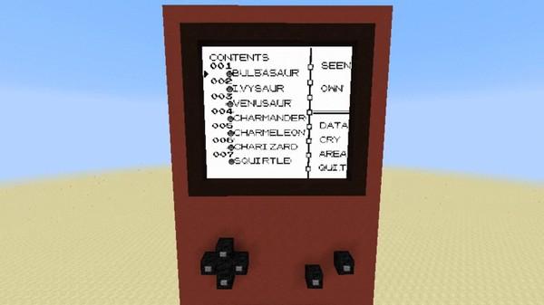 マインクラフト内で『ポケットモンスター 赤』がプレイ可能に関連した画像-05
