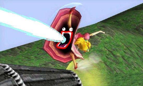 3DS『大乱闘スマッシュブラザーズ』スカートの中が暗黒空間に関連した画像-08