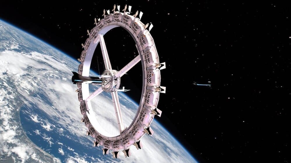 宇宙ホテル ボイジャー・ステーション 人工重力