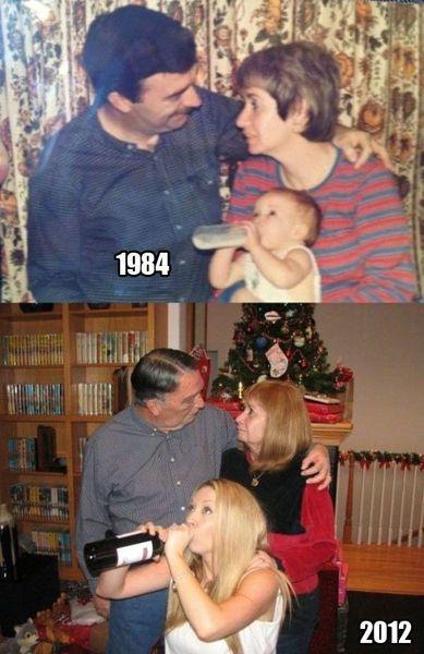 思い出に残る家族写真を現代に甦らせてみたに関連した画像-03