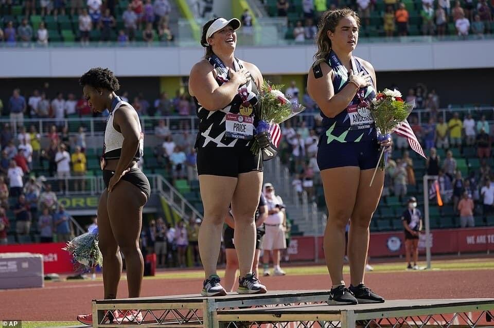 グウェン・ベリー アメリカ オリンピック BLM