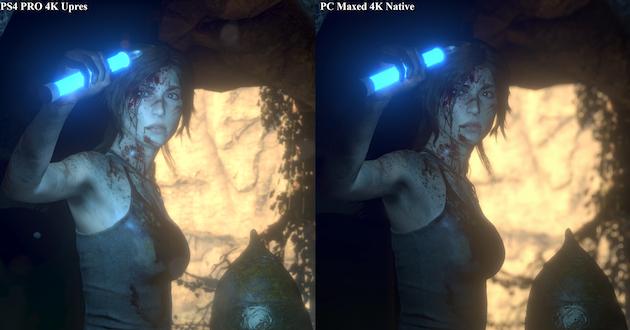 PS4 ProとPCの4Kゲーム画質比較に関連した画像-01