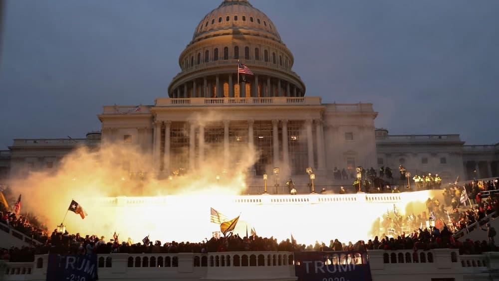議会 乱入 米大統領選 アメリカ トランプ大統領