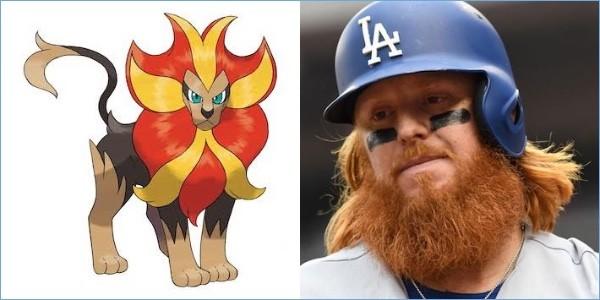 ポケモンと同じ髪型の野球選手に関連した画像-11