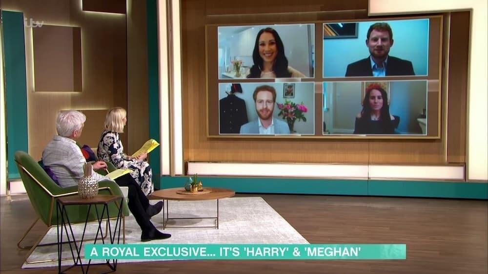 イギリス そっくり モノマネ 英国王室 ハリー王子 メーガン妃