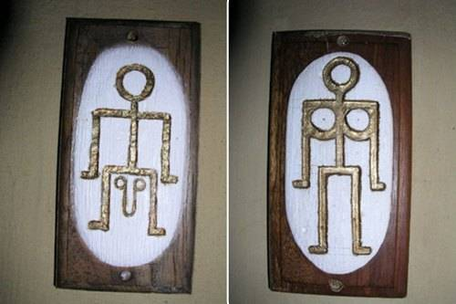おもしろいトイレのマークに関連した画像-09