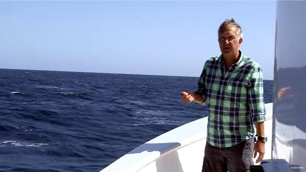 絶好のタイミングでシロナガスクジラが登場するハプニングに関連した画像-04