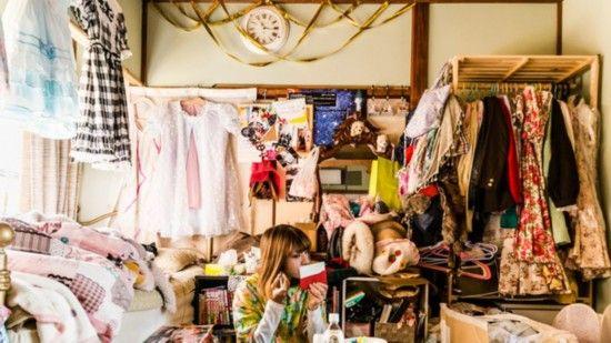 オタク女子が住む『堕落部屋』に関連した画像-05