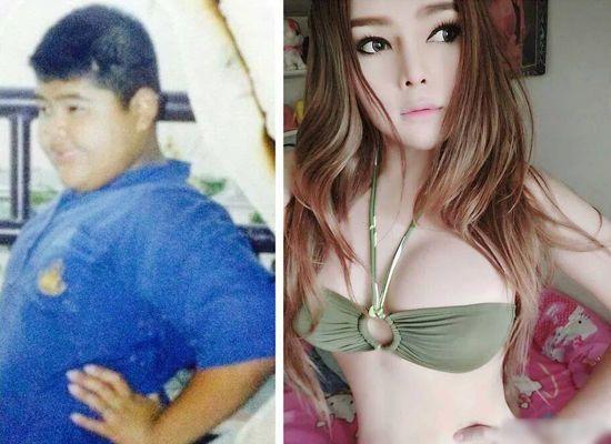 おデブだった男の子が性転換手術を受け超絶美少女に関連した画像-04
