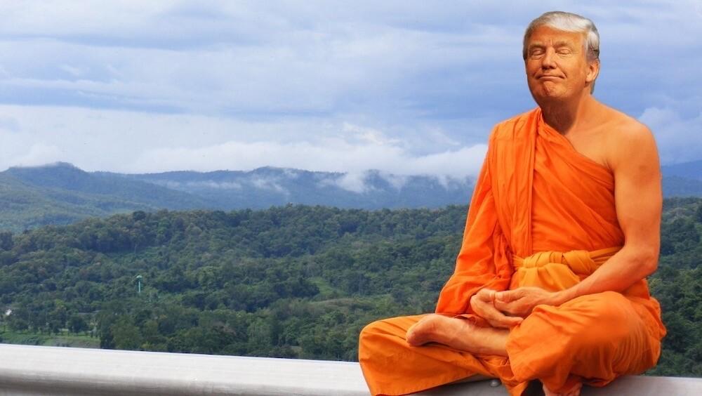 トランプ大統領 アメリカ 仏像 中国