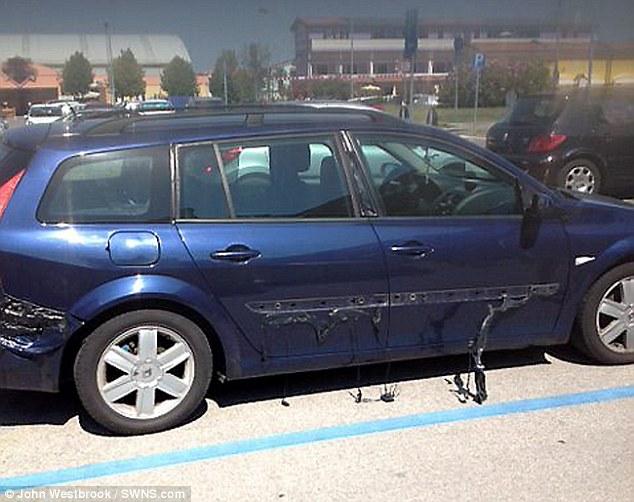 猛暑で車が溶け出すに関連した画像-03