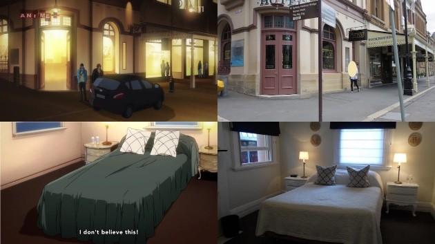 アニメ『Free!』の聖地巡礼先ホテルに日本人観光客に関連した画像-02