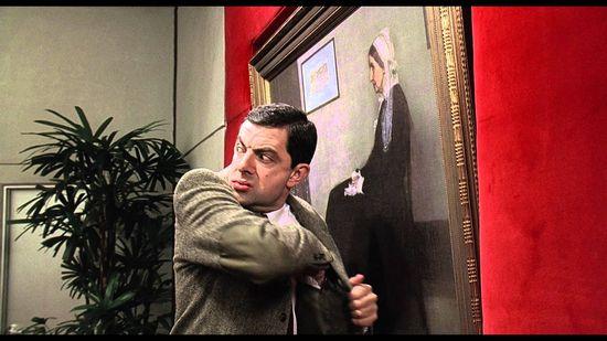 『Mr.ビーン』の顔を歴史ある名画や肖像画に合成に関連した画像-13