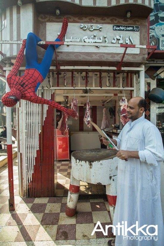エジプトの「スパイダーマン」に関連した画像-09