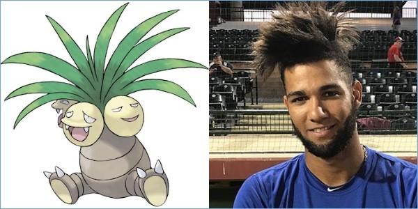 ポケモンと同じ髪型の野球選手に関連した画像-08