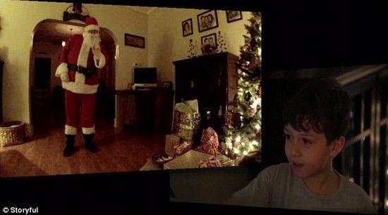 サンタクロースの隠し撮りに成功に関連した画像-06