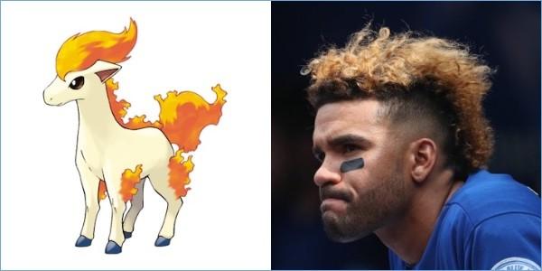 ポケモンと同じ髪型の野球選手に関連した画像-15