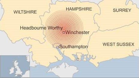 イギリス南部で地震が発生に関連した画像-02