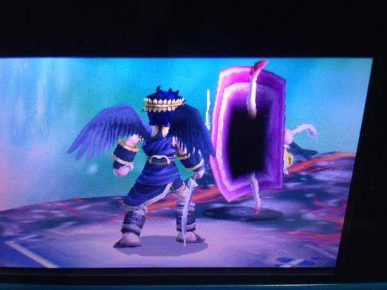 3DS『大乱闘スマッシュブラザーズ』スカートの中が暗黒空間に関連した画像-05