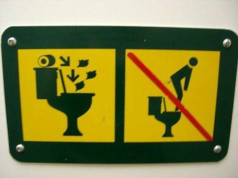 おもしろいトイレのマークに関連した画像-10