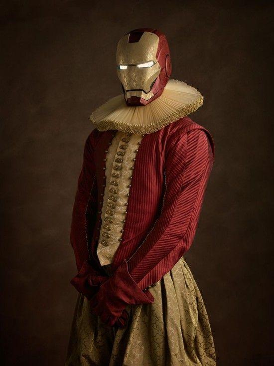 もしもスーパーヒーローたちがルネサンス期(14~16世紀)に実在したら?に関連した画像-10