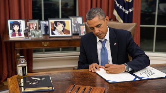オバマ大統領が日本のアニメを感謝に関連した画像-01