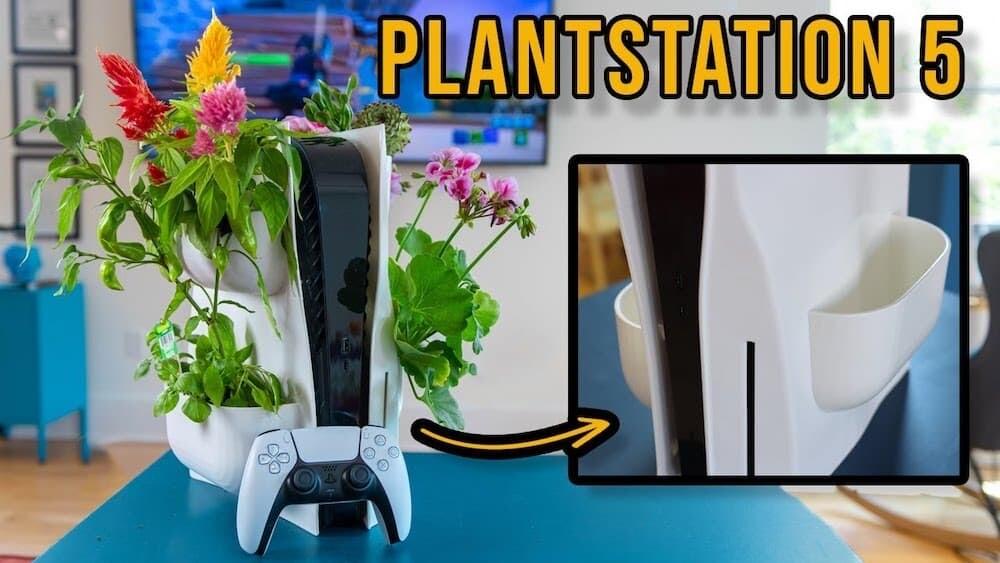 PlantStation5 プラントステーション5 PS5 プランター 発明 アメリカ