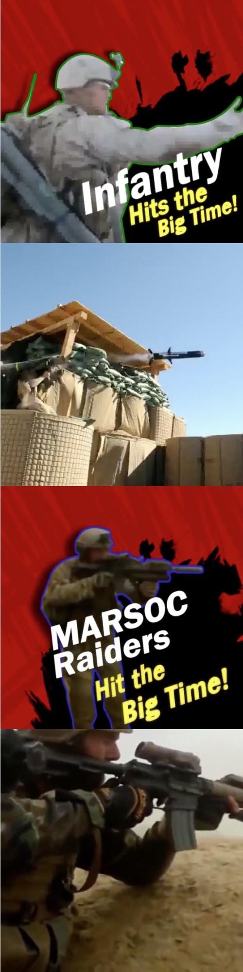 アメリカ海兵隊、『大乱闘スマッシュブラザーズ』をエサにに関連した画像-02