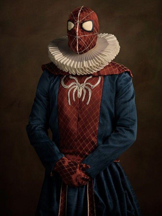 もしもスーパーヒーローたちがルネサンス期(14~16世紀)に実在したら?に関連した画像-04