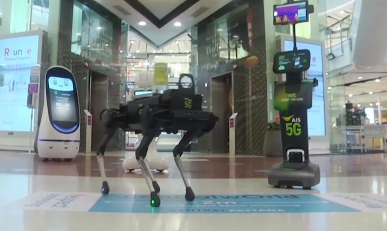 ロボット 新型コロナウイルス タイに関連した画像-01