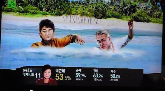 韓国の選挙報道特番に関連した画像-12