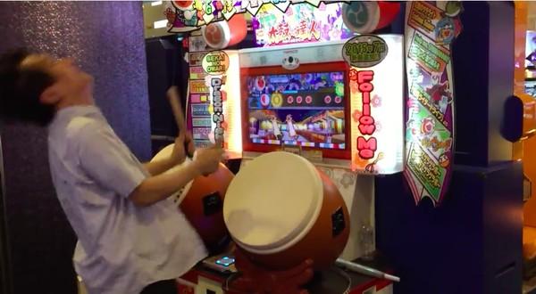 東京にクレイジーな「太鼓の達人」プレイヤーが降臨に関連した画像-03