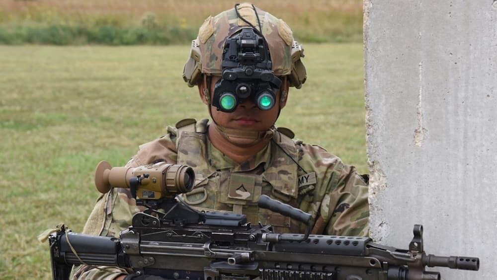 暗視ゴーグル 米軍 アメリカ ENVG-B