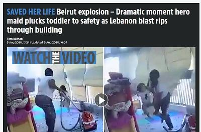 レバノン 爆発 家政婦に関連した画像-02