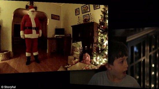 サンタクロースの隠し撮りに成功に関連した画像-05