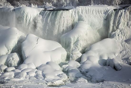 凍ったナイアガラの滝に関連した画像-04
